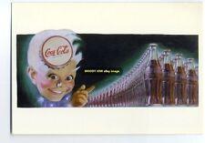 ad1681 - Coca Cola - modern advert postcard