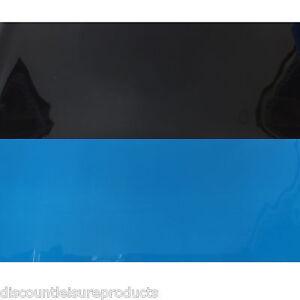 "16""/40cm Aquarium/Marine Fish Tank Double Sided Background Black & Blue #C"