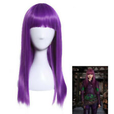Descendants 2 Mal Bertha Maleficent Long Live Evil Straight Purple Cosplay Wig