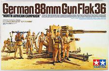 "1/35 Tamiya German 88mm Gun Flak36 - ""North African Campaign"" #35283"