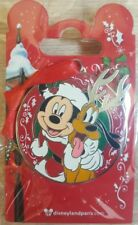 PIN Disneyland Paris NOEL / Christmas MICKEY & PLUTO OE