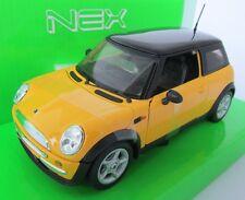 Mini Cooper / Modèle / Nex Models / Jaune / 1:24 / Welly / Neuf / Emballage