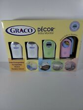 New listing Graco Decor Baby Monitor, multiple colors to match nursery color