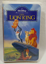 Walt Disney Masterpiece The Lion King VHS Clamshell Release