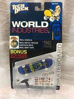 Gen 7 NOS Tech Deck WORLD INDUSTRIES #7600 Series 7606 Boards Skateboard