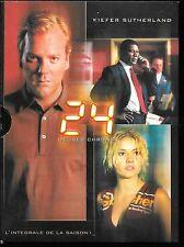 COFFRET DIGIPACK 6 DVD ZONE 2--SERIE TV--24 HEURES CHRONO - INTEGRALE SAISON 1