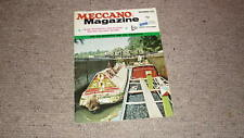 OLD MECCANO MAGAZINE, NOV 1972, INLAND WATERWAYS, TREE PLANTING