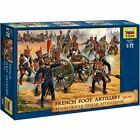 Zvezda 8028 French Foot Artillery 1810-15 19 figures, 12 horses, 3 cannon 1/72