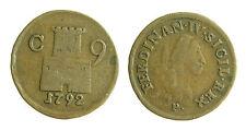 pci2271) Regno di Napoli  Ferdinando IV  9 cavalli 1792