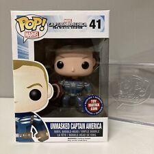 Funko Pop! Captain America The Winter Soldier Unmasked #41 Toy Matrix Mint Box!