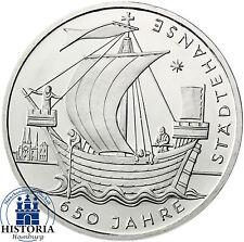 Deutschland 10 Euro Silber 2006 bfr 650 Jahre Städtehanse Münze in Münzkapsel