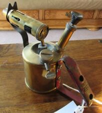 Collection of 7 x Vintage  Brass  Blow Lamps