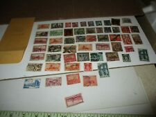 Postage Stamps: SAAR, used, unsorted