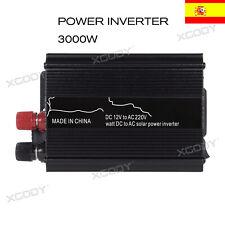 Inversor de Corriente Convertidor 3000W DC 12V TO AC 220V Power Inverter +USB