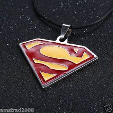 SUPERMAN SMALLVILLE COLLANA-CIONDOLO IN ACCIAIO INOSSIDABILE BELLA QUALITA SUPER