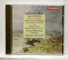 ALASDAIR MITCHELL - MCEWEN christ nativity hymn CHANDOS CD STILL SEALED