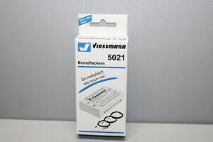Viessmann 5021 Flickering Fire Gauge H0 Boxed