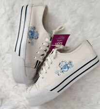 Nwt Vintage Winnie The Pooh Platform Shoes 90'S Womens Size 8 Textile Upper
