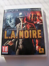 Jeux PLAYSTATION 3 PS3 L.A. NOIRE