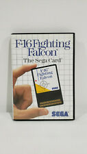 *NICE* Sega Master System F-16 Fighting Falcon Game Complete *USED*