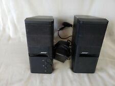 Bose MediaMate Computer Speakers Pair Black 262885