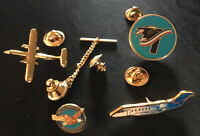 4 Vintage Pins | Pratt Whitney Dependable Engines Tie Tack | B2 Bomber | Planes