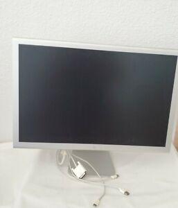 "Apple Cinema Display 23"" LCD DVI USB x2 UNTESTED Clean Aluminum Case"