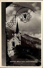 Innsbruck Österreich Tirol AK ~1940 Mühlau Gasthaus Koreth Schild Kirche Kapelle