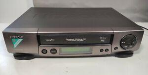 Hitachi Video Cassette Recorder VHS VCR Grey - VT-FX850E - Fully Tested