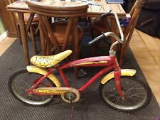 Vintage AMF Junior Roadmaster SPIDERMAN Bicycle w Siren see pictures and descrip