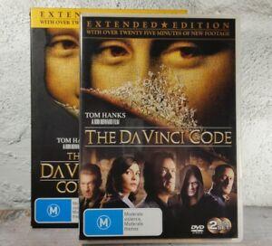 Davinci Code (DVD, 2006, 2-Disc Set) Extended Edition - DAN BROWNS Thriller