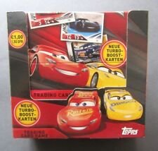 Topps  Disney Pixar Cars 3  Trading Cards  Display  OVP 1A TOP