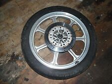 1991 kawasaki vn750 vulcan front wheel rim with tire