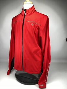Pearl Izumi Select Barrier WxB Jacket Men's Size XL Red and Black