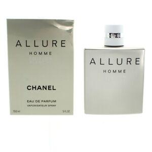 Chanel Allure Homme Edition Blanche 150ml Eau De Parfum EDP Spray Men's For Him