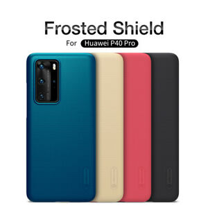 For Huawei P40 /Pro Case Original Nillkin Slim Matte Hard PC Back Cover Shield