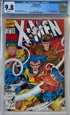 X-Men #4 CGC 9.8 White Pages 1st app. of Omega Red (Arkady Rossovich) L@@K!