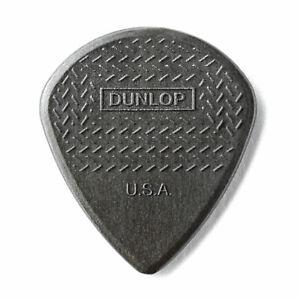 Jim Dunlop Nylon Max Grip Jazz III Carbon Fibre Guitar Picks - 6 Pack Plectrums