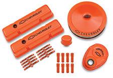 Proform 141-780 Chevy Orange Dress Up Kit for Chevy Small Block V8