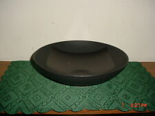 "MIKASA POTTER'S ART ""ORIGAMI BLACK"" 11 1/4"" VEGETABLE BOWL/MK502/JAPAN/FREE SHIP"