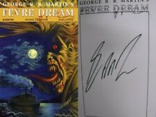 Fevre Dream Hardcover GN Signed George RR Martin Limited Game of Thrones New NM
