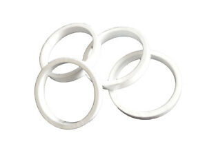 Headset Spacer 20mm 32.5mm O.D White Take-off