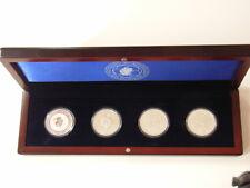 V84- 4 x 10 Euro Münze FIFA WM 2006 Deutschland in edler Sammelbox aus Holz