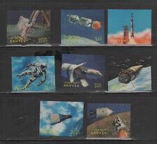 BHUTAN #91-91K  1967  SPACE     MINT VF NH  O.G