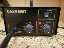 Hakko 851 Soldering SMD Rework Station 851-2 with 3 extra tips