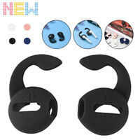 2 pack Silicone Anti-slip Headphone Case Hook Cover Replacement for Apple AirPod