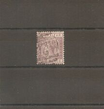 TIMBRE GIBRALTAR BRITISH COLONY N°10 OBLITERE USED 2P 1886