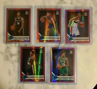 2019-20 Donruss Optic Pink Prizm Rookie Lot (5) Ty Jerome, Romeo Langford