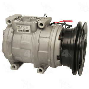 A/C  Compressor And Clutch- New   Four Seasons   58387