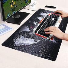 L size 700*300*3MM Anti-Slip World Map Speed Game Mouse Pad Mat Laptop Mousepad